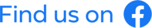 Find us on Facebook logo